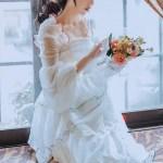 White Layered Fairy Dress | Hyuna