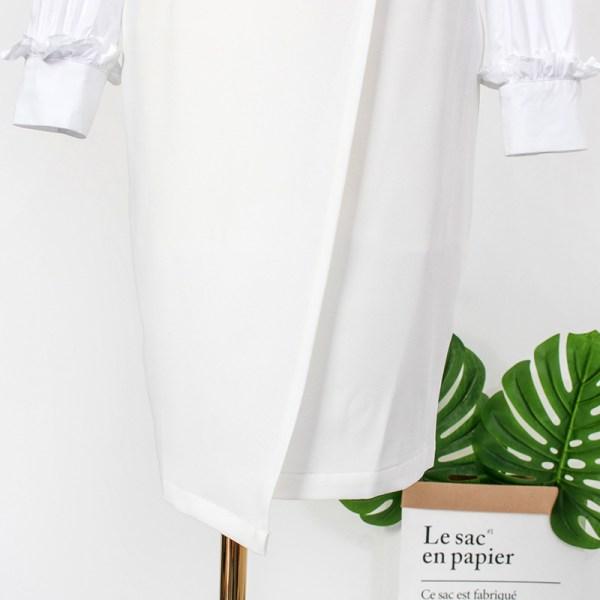 White Irregular Skirt | IU – Hotel Del Luna