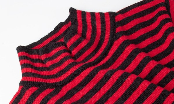 Black and Red Striped Sweater  | Jisung – Stray Kids