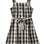 Plaid Sling Dress | Miyeon – (G)I-DLE