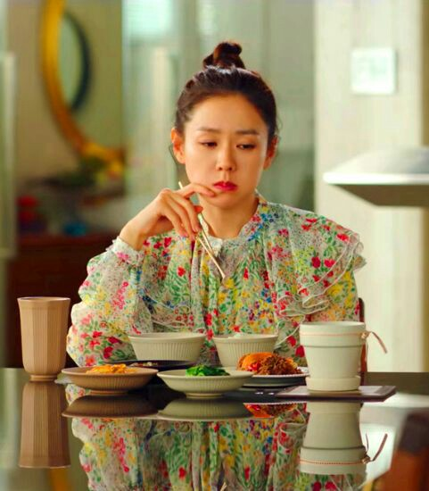 Floral Ruffled Collar Top | Yoon Se Ri – Crash Landing On You