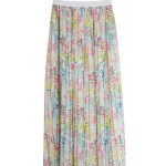 Long Floral Pleated Skirt  | Yoon Se Ri – Crash Landing On You