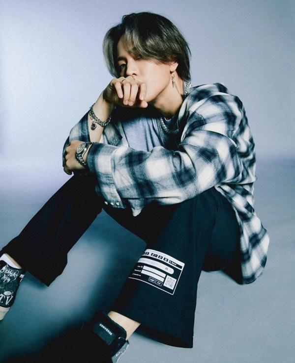 Plaid Shirt  With Fringe Details | Donghyuk – iKON