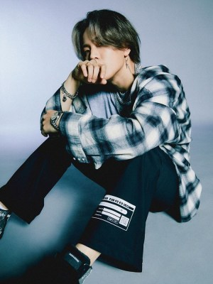 Plaid Shirt With Fringe Details | Donghyuk – iKON