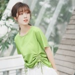 Green Drawstring T-Shirt