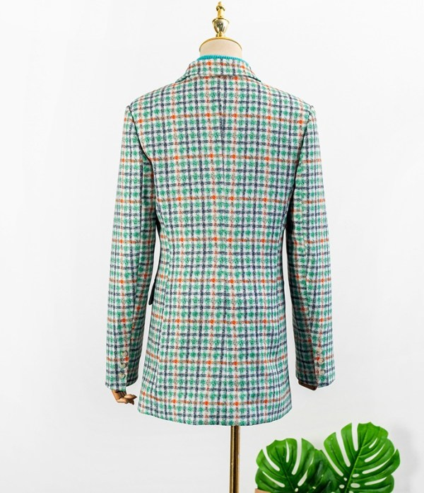 Plaid Suit Jacket | IU