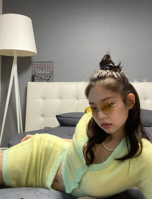 Gradient Rimless Glasses | Jennie – BlackPink