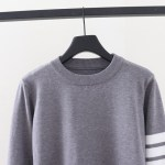 Grey Sweatshirt With Stripe Detail | Jin – BTS