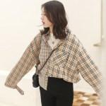 Classic Loose Plaid Shirt | Jisung – Stray Kids
