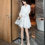White Daisy Mini Dress | Ryujin – ITZY