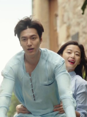 Blue Striped Long Sleeve Shirt   Shim Cheong – The Legend Of The Blue Sea