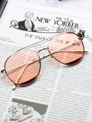 Shim Cheong – The Legend Of The Blue Sea Pink Tinted Aviator Glasses (4)