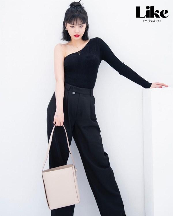 Black One-Shoulder Top | Soojin – (G)I-DLE