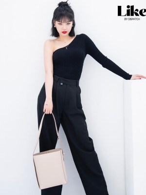 Black One-Shoulder Top | Soojin – (G)I-DLE