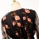 Floral Printed V-Neck Blouse   IU – Hotel Del Luna