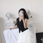 Black Cropped Vest   Jennie – BlackPink
