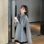 Grey V-Neck Vest | Jisoo – BlackPink