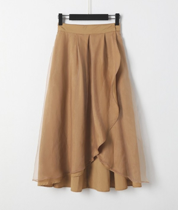 Brown Ruffled Top and Skirt Set | Ko Moon‑Young – It's Okay Not To Be Okay