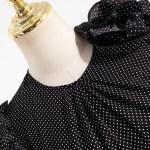 Polka Dot Black Lettuce Dress | Ko Moon‑Young – It's Okay Not To Be Okay