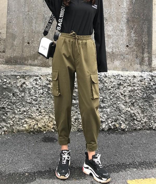 Olive Green Cargo Pants   Park Seo Roi – Itaewon Class