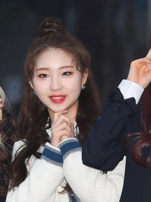 Blue And Grey Outlined Cardigan | Yeojin – Loona
