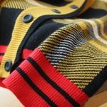 Checkered Knitted Cardigan  | Yugyeom – GOT7