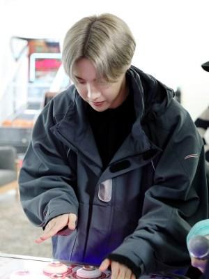 Grey Hooded Jacket | J-hope – BTS