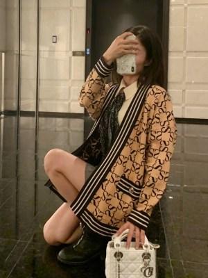 Momo – Twice Classic Reversible Cardigan (16)