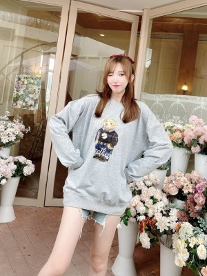 Nayeon -Twice Bear Printed Sweatshirt (17)