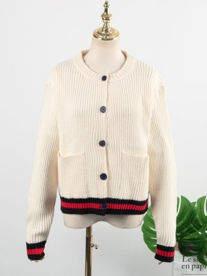 Yoon Se Ri – Crash Landing On You Beige Knitted Cardigan (7)