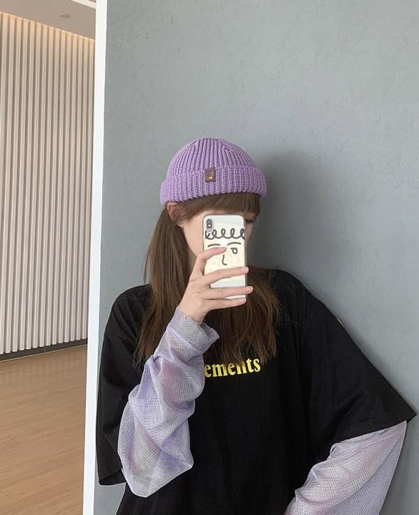 Lilac Short Beanie   Jennie – BlackPink