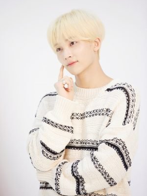 Crisscross Stitching Designed Sweater | Jeonghan – Seventeen