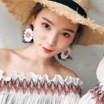 Big Daisy Earrings | Jisoo – BlackPink