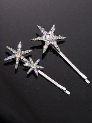 Seo Dan – Crash Landing On You Star Shaped Crystal Studded Hairpin (7)