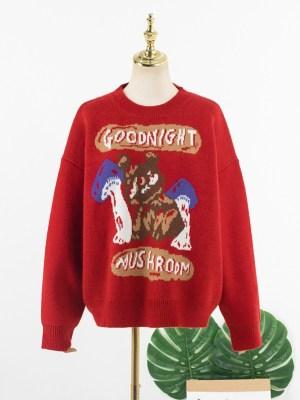 IU – Goodnight Mushroom Sweater (11)