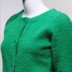Green Mohair Cardigan | Irene – Red Velvet