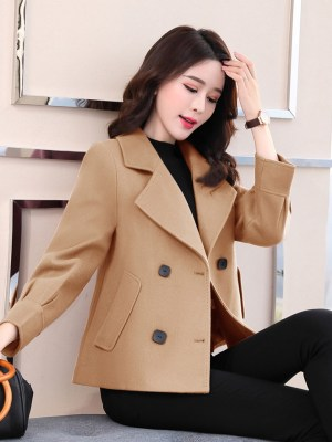 Kang Soo Jin – True Beauty Short Wool Coat (5)