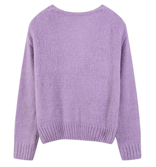 Lilac Mohair Blend Knitted Cardigan | Nayeon – Twice
