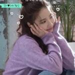 Lilac Buttoned V-Neck Cardigan | Oh Mi Joo – Run On