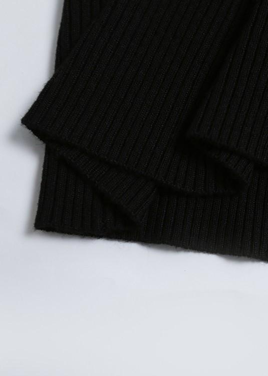 Black Shoulder Cut-Out Bodycon Dress | Hyuna
