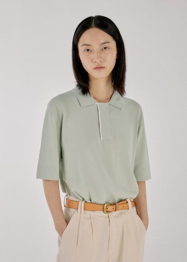 Mint Collared Shirt | IM – MONSTA X