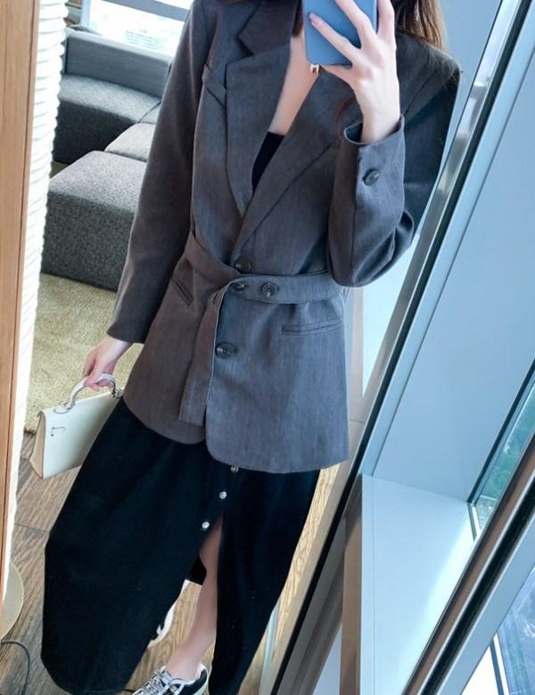Black Front Slit Dress | Jennie – BlackPink