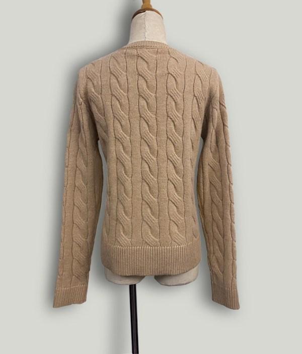 Khaki Twist Knitted Button Cardigan   Lim Joo Kyung – True Beauty