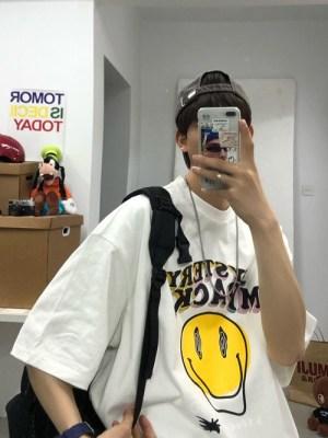 Minhyuk – MONSTA X – Smiley Face Printed T-Shirt (6)