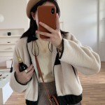 White Plush Jacket | Oh Mi Joo – Run On