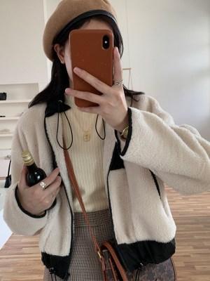 Oh Mi Joo – Run On White Plush Jacket (15)