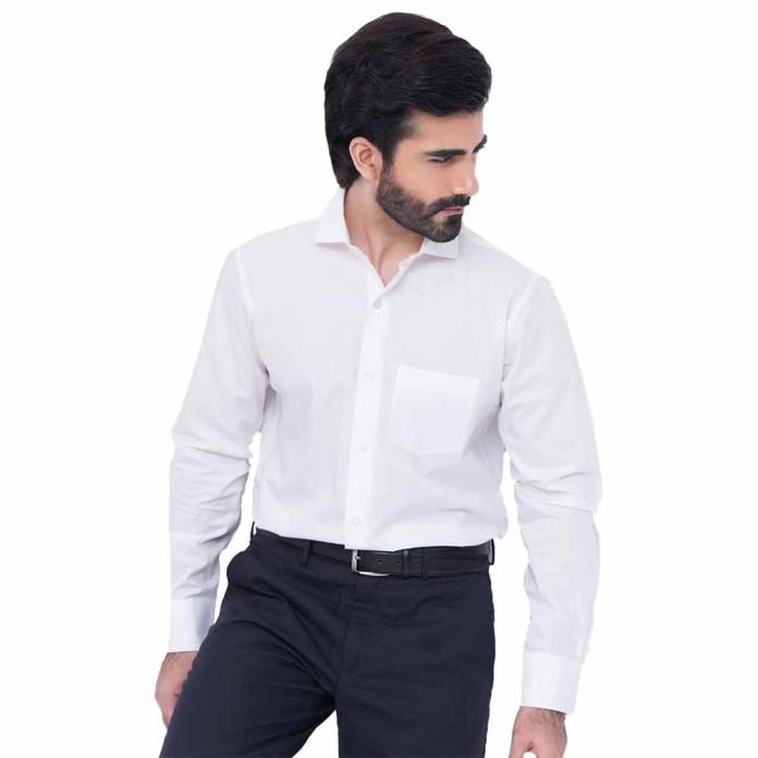 Plain crisp shirts