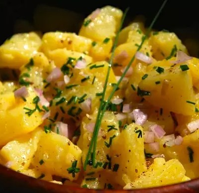 Pommes de terre vinaigrette