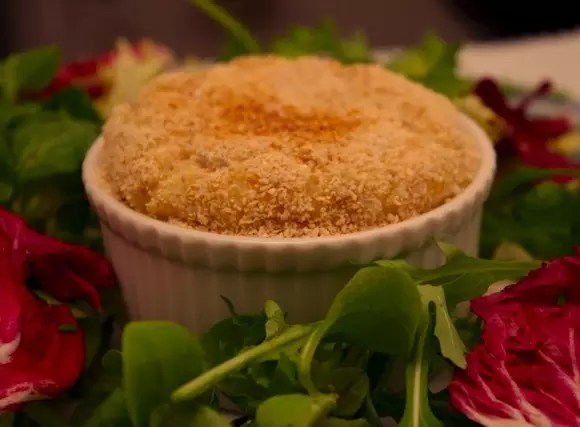 souffle puree saumon