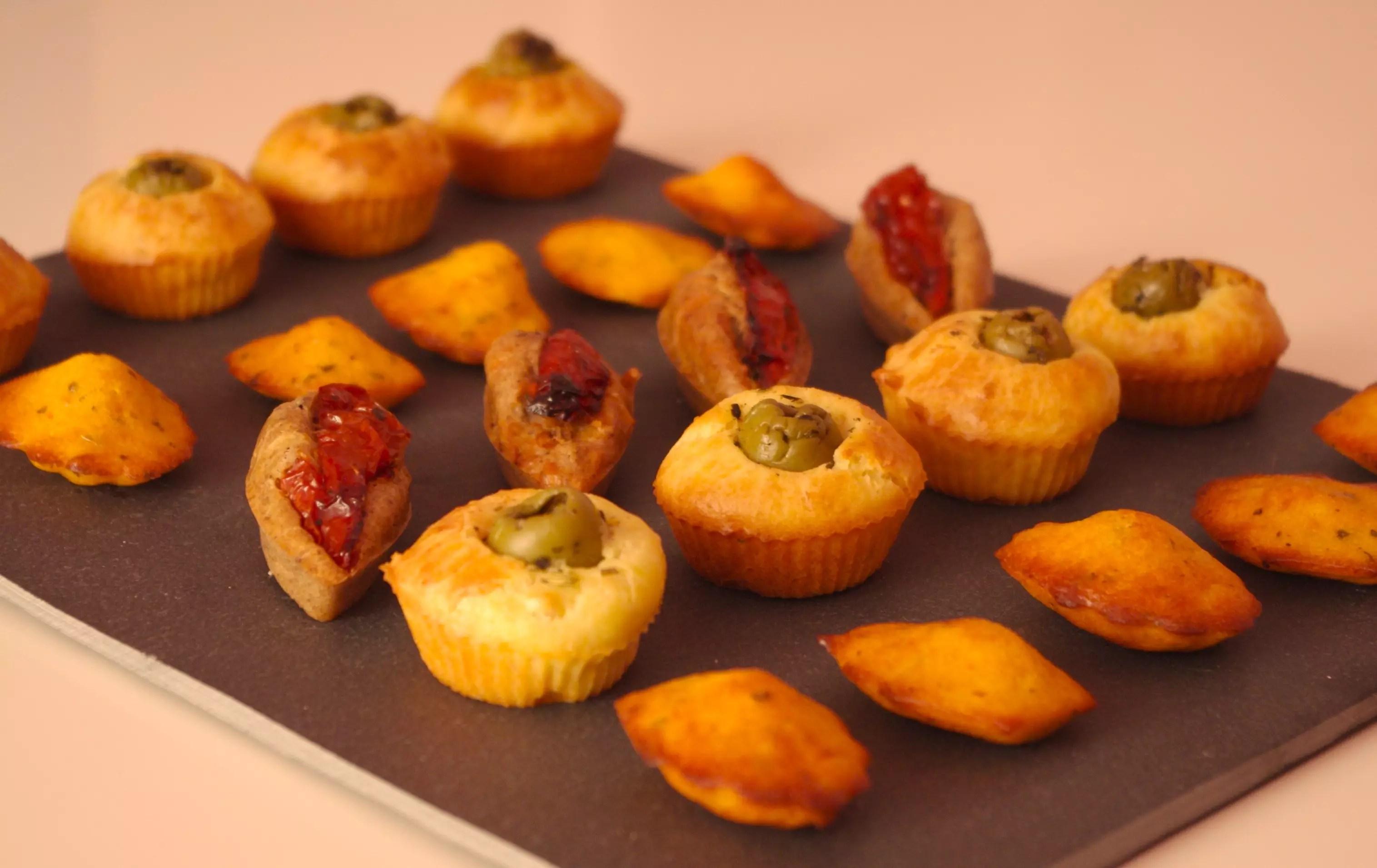 Mini Cake Olive Pour  Personnes